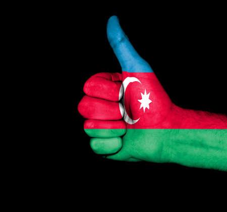 Azerbaijan Fist Flag