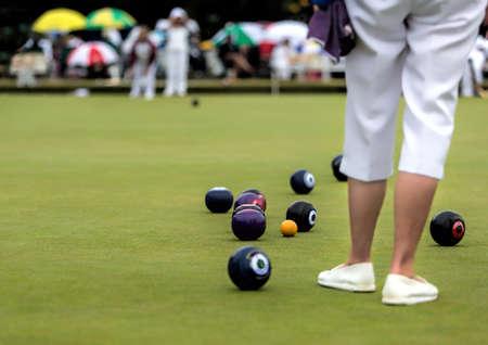 Lawn Bowls Match