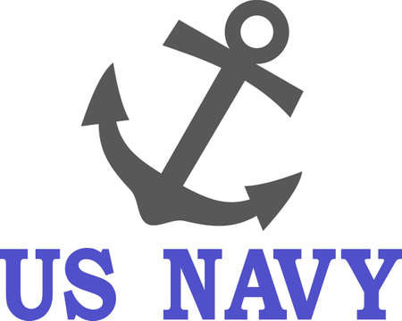 Anchors away!  This anchor makes an eye catching nautical creation for the boating crowd.  Perfect for boat dcor!