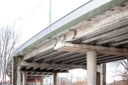 concrete structure of automobile bridge