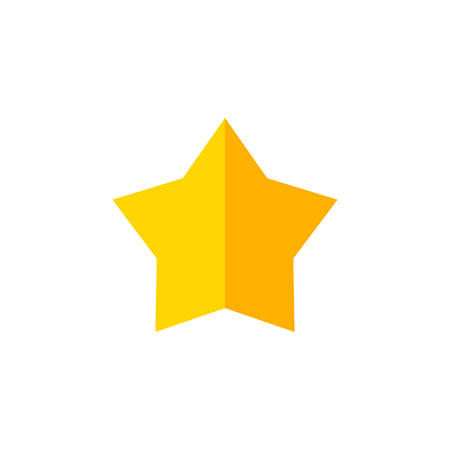 Starlet Vector Element Can Be Used For Star, Asterisk, Sky Design Concept.  Isolated Star Flat Icon.