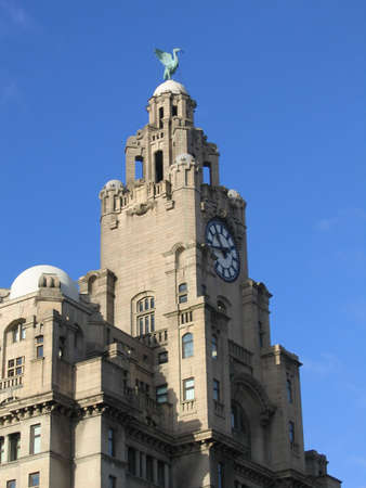 Liver Bird on Liver Building in Liverpool