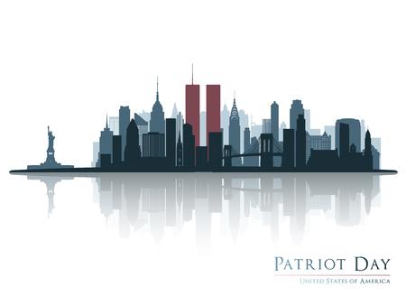 Patriot day banner.