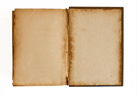 Old empty Book ready for writing