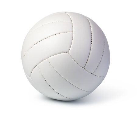 Foto de Volleyball Ball Isolated on White Background - Imagen libre de derechos