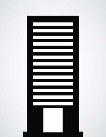 Urban design over white background, vector illustration