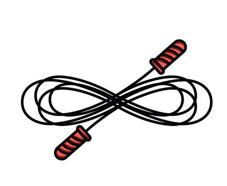 jump rope  isolated icon design, vector illustration  graphic