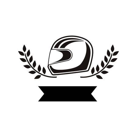 Racing motorsport symbol icon vector illustration graphic