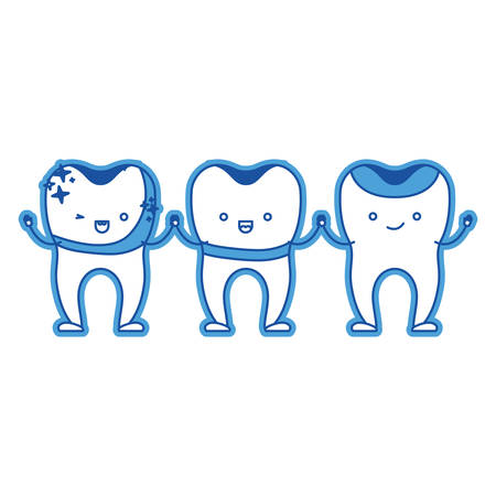 Dental Crown And Implant And Restored Teeth Cartoon Holding Hands In Blue Silhouette Vector Illustration Royalty Free Vector Graphics A wide variety of cartoon crown options are available to you clipdealer