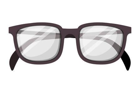eyeglasses optical accessory icon vector illustration design
