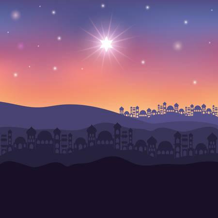 Illustration pour Houses cityscape buildings landscape vector illustration design - image libre de droit