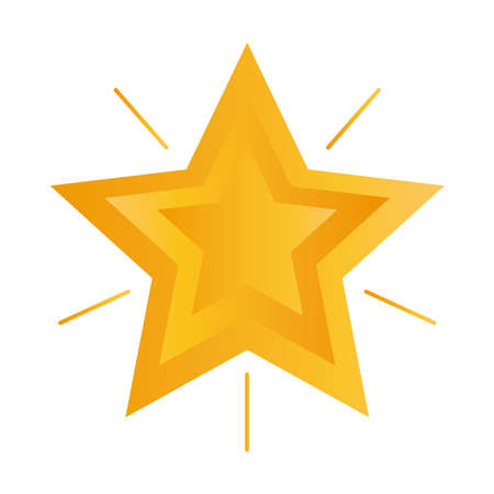 Illustration for shiny star design, winter season and decoration theme Vector illustration - Royalty Free Image