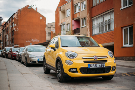 Fiat 500X or Type 334 is a hatchback crossover sport utility veh