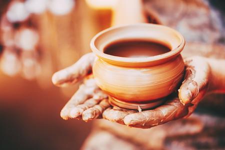 Photo pour Potter And Clay Craft - image libre de droit