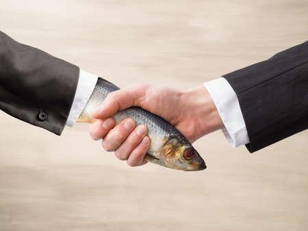 Dead Fish Handshake
