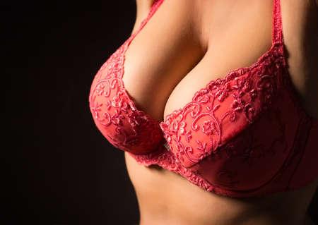 Photo pour Big breasts - image libre de droit