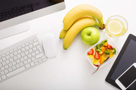 Photo for Working space in office and modern technology - Royalty Free Image