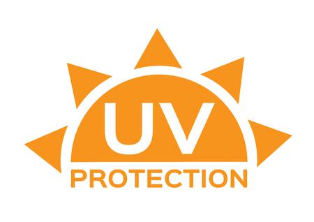 Illustration pour uv protection icon - image libre de droit