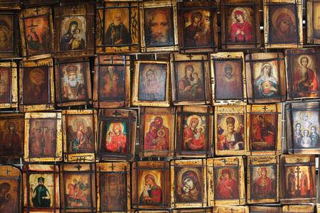 Religious orthodox icons collection