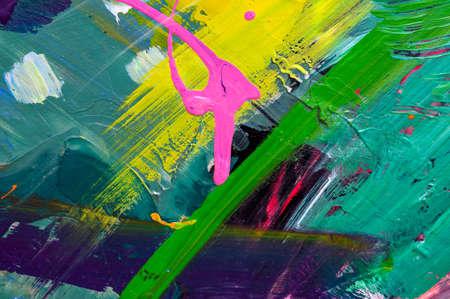 Foto de Abstract art background. Hand-painted background. SELF MADE - Imagen libre de derechos
