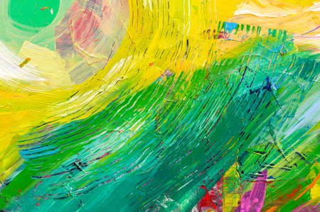 Photo pour Abstract art background. Hand-painted background. SELF MADE - image libre de droit