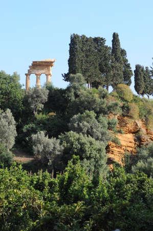 Tempio Dei dioscuri  Valle dei Templi Agrigento