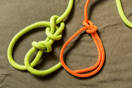 Types knot - Bowline with security and without.