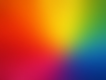 Illustration pour Vector Gay rainbow gradient mesh blur background - image libre de droit
