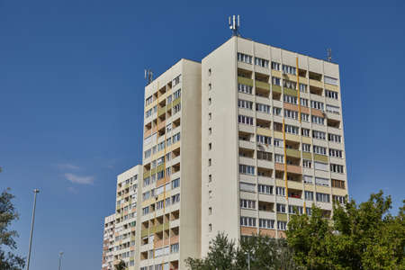Photo pour Block of Flats - image libre de droit