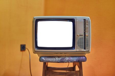 Foto per Old TV no signal - Immagine Royalty Free