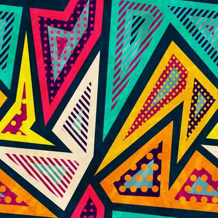 Hipster Geometric Pattern Wallpaper