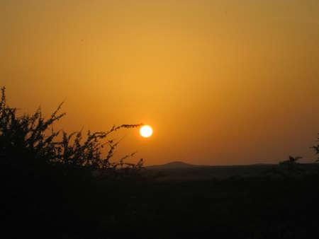 sol del amanecer