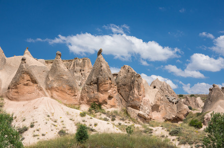 A rock formation at the Devrent Valley in Cappadocia, Turkey