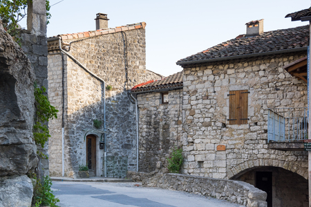 Balazuc is a French commune in the Ardeche department in the Auvergne-Rhone-Alpes region of southern France. The village is a member of The most beautiful villages in France Association