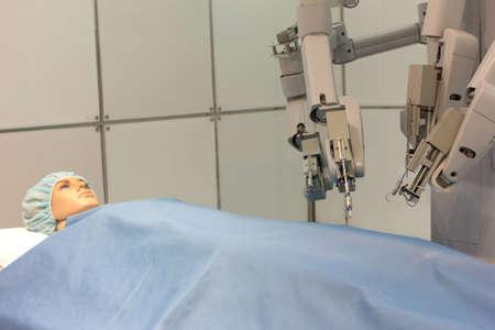 Experimental robotic surgery