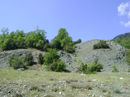 Serpantines on Taurus Mountains