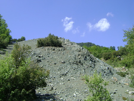 Serpantines on the Taurus Mountain