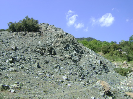 Serpantines on the Taurus Mountains