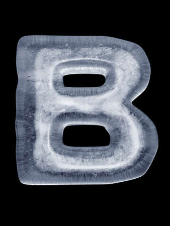 Ice Letter B