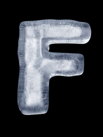 Ice Letter F
