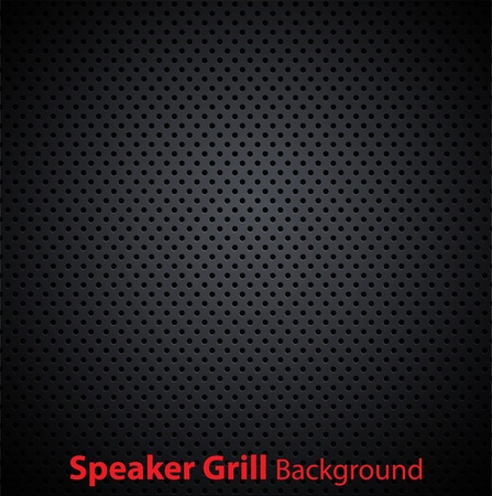 Realistic vector speaker grill textureのイラスト素材