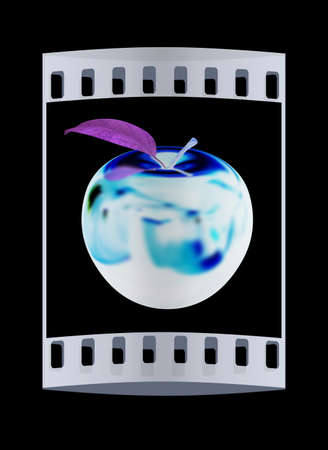 apple. The film stripの写真素材