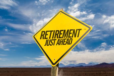 Foto de Retirement Just Ahead - Imagen libre de derechos