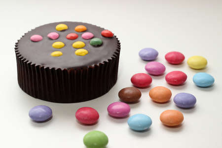 Cakes colorful