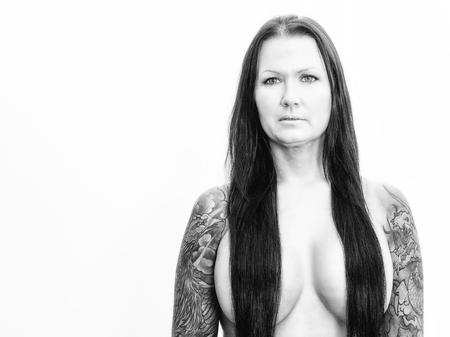 Photo pour mature scandinavian woman - image libre de droit
