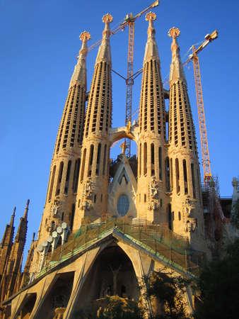 familia sagrada in Barcelona, Spain