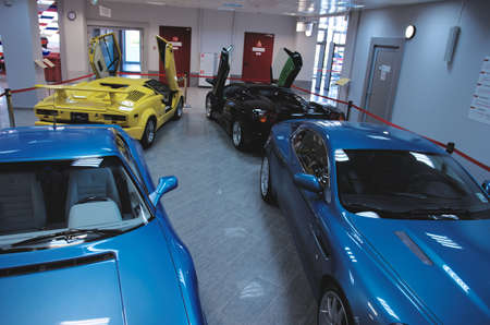 SOCHI, RUSSIA - JUNE 12, 2015: Collection of cars in the Sochi Auto Museum, on June 12 2015.