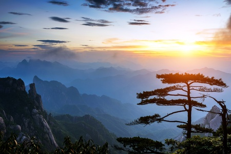 World Natural Heritage  China Jiangxi Mountains