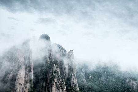 World Natural Heritage: China Jiangxi Mountains.