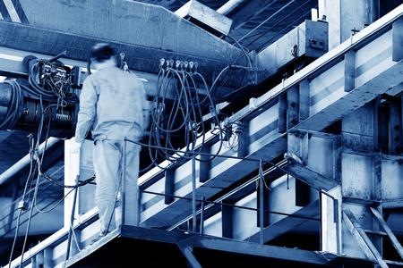 Engineers are maintenance overhead crane